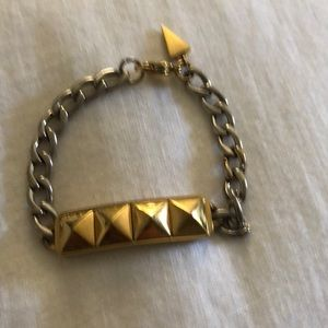 Gold and silver Rebecca Minkoff Stud Bracelet